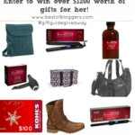 Best of Bloggers Ladies Prize Pack #giftguidegiveaway