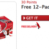 Free 12 Pack Coca-Cola Coupons for Only 30 MyCokeRewards Points