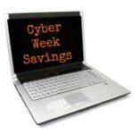 Cyber Monday Week Long Savings!