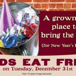Rusty Bucket Kids Eat Free on New Years Eve! #NewYearsEve