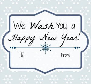 wash you a happy new year