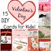 15 DIY Valentine Day Cards for Kids