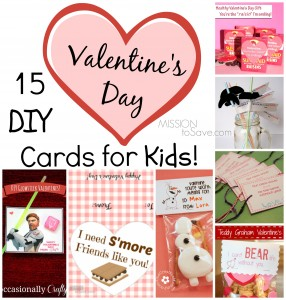 15 DIY Valentines Day Cards for Kids