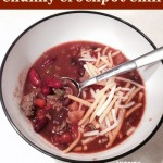 Dinner 911- Chunky Crockpot Chili Recipe