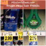 Kroger Free Scope Mouthwash and Gillette Shaving Gel!
