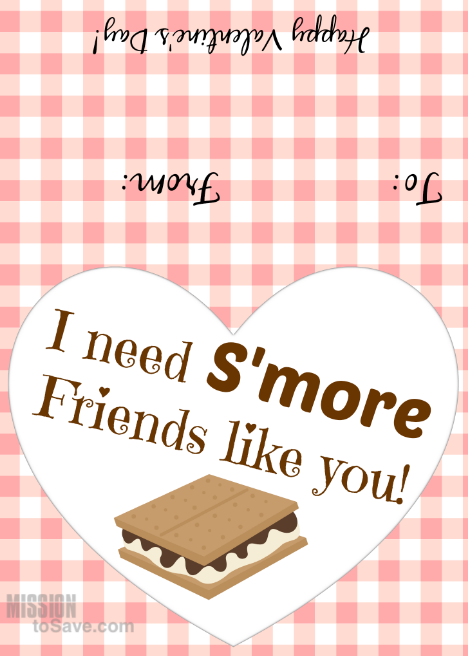 4 Free Printable Valentine's Day Tags for S'Mores ...