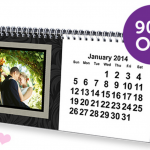 Custom Desk Calendar for $4.99 Shipped!