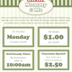 Mommy & Me Movies at Carriage Place (First Monday of Month)