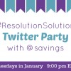 Join Me for the Favado #ResolutionSolution Twitter Party on 1/21 (Prizes!)