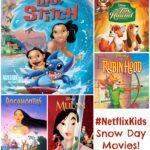 Snow Day = Movie Day Thanks to Netflix #StreamTeam #NetflixKids #spon
