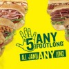 subway januany $5 footlong