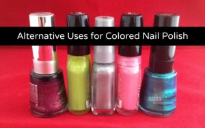 Alternative Uses for Colored Nail Polish