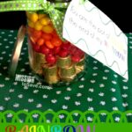 DIY Gift- Rainbow Candy Jar (+ Free Printable Tags)