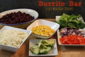 Easy-Weeknight-Dinner-Burrito-Bar-1024x688