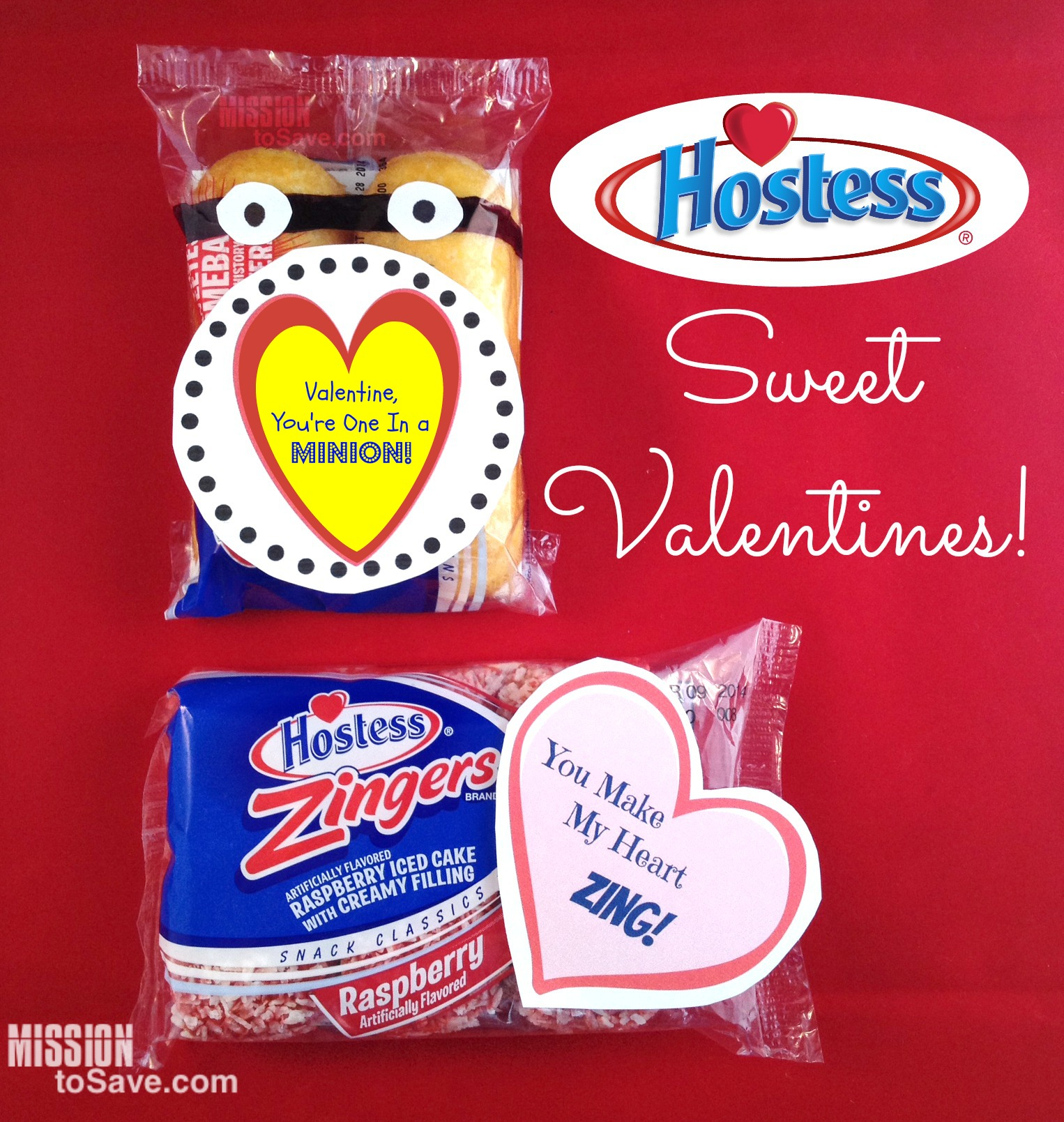 Sweet Hostess Valentines (+ Free Printable Tags)