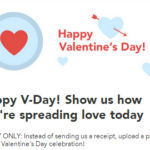 Checkout 51 Gives You $0.51 for FREE on Valentine's Day!