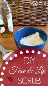 DIY Face and Lip Scrub