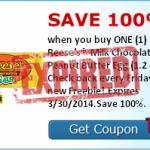 Free Reese's Chocolate Peanut Butter Egg!  (SavingStar Friday Freebie)