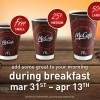 FREE Coffee at McDonalds During Breakfast! (no purchase, 3/21-4/13)