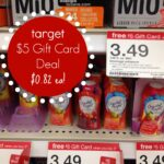 Target Gift Card Deal: Mio and Crystal Light Water Enhancers for $0.82 Each