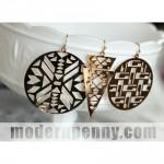 Trendy Gold Geometric Earrings for $5.98 Shipped!