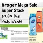 Dial Soap for $0.30 During Kroger Mega Sale!