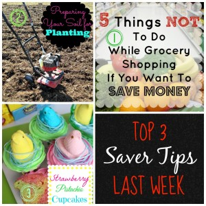 Come Link up on Saver Tips Tuesday so you can be in the top 3 next week.