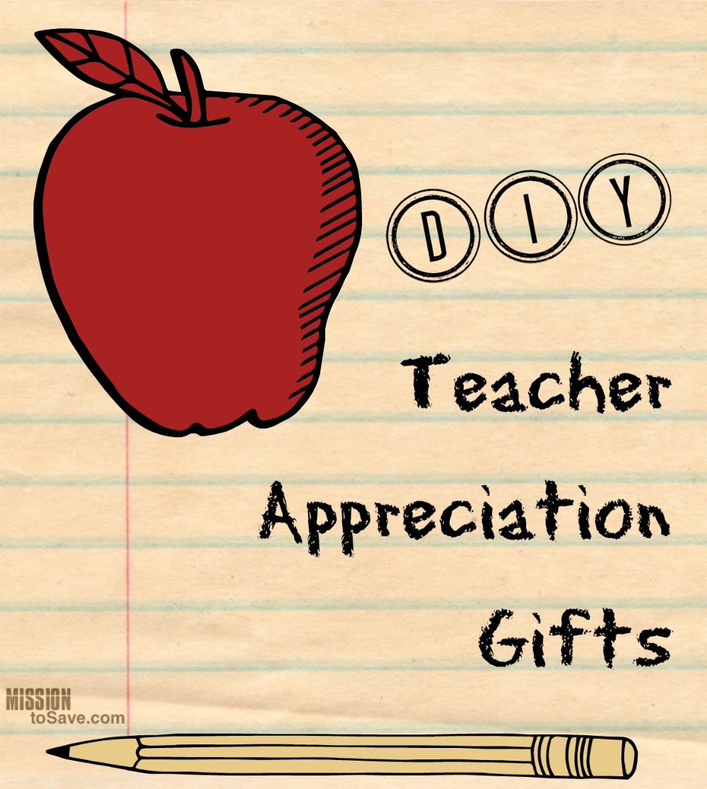 A great roundup of DIY Teacher Appreciation Gifts!