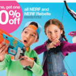 Target: Nerf Rebelle Heartbreaker Bow for $5.13 Each