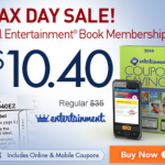 Entertainment Book Tax Day Sale- $12.89 Shipped! EXTENDED 4/18/14