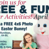 free picture with easter bunny
