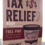 Graeter's Tax Day Deal – FREE Pint with Purchase on 4/15!