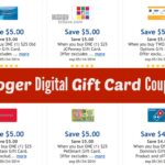 Kroger Digital Gift Card Coupons (Old Navy, JCPenney, Bath & Body Works + More)