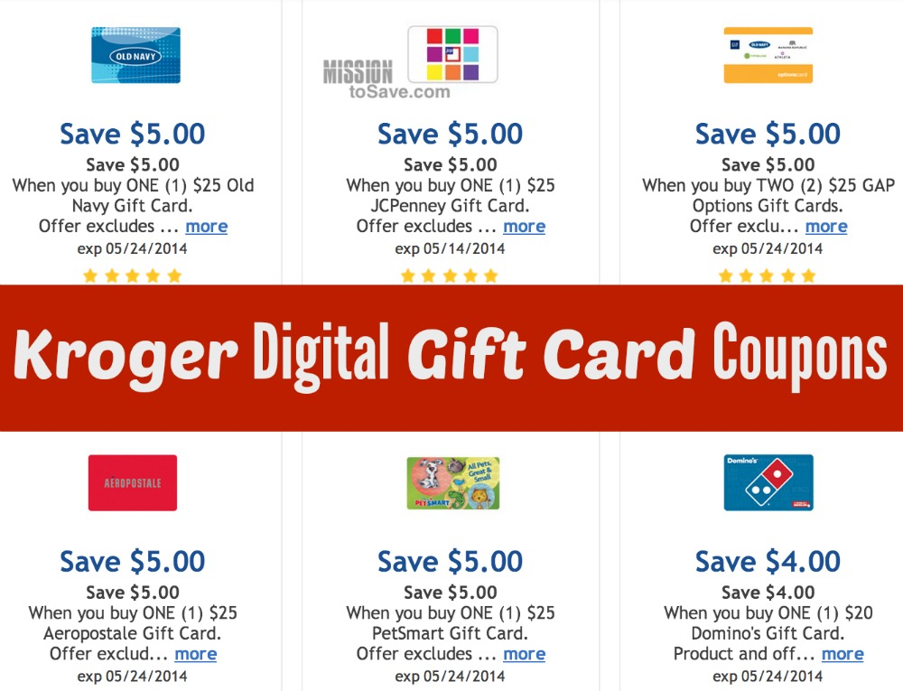 Click here to check out Kroger Digital coupons - you'll find storewide savings on some of your favorite brands.