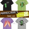Minecraft Tees on Crazy 8!