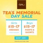 Tea Collection Memorial Day Sale!
