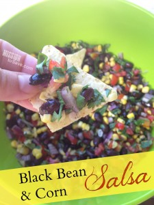 Check out this fresh Black Bean and Corn Salsa recipe.