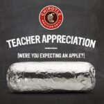 BOGO Chipotle for Teacher Appreciation Day on May 6th