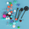 DIY Resin Flower Accessory Kit Under $7 Shipped on Modern Penny!