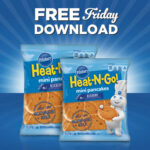 Kroger Free Friday Download: Pillsbury Heat-N-Go Mini Pancakes