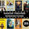 Check out the lineup for the Marcus Theatre's Summer Movie program. Lots of fun family films in 2015!