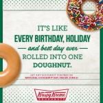 Krispy Kreme National Doughnut Day Freebie on June 6, 2014!