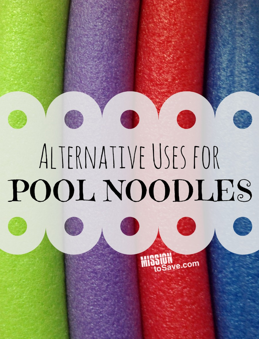 alternative uses for pool noodles roundup