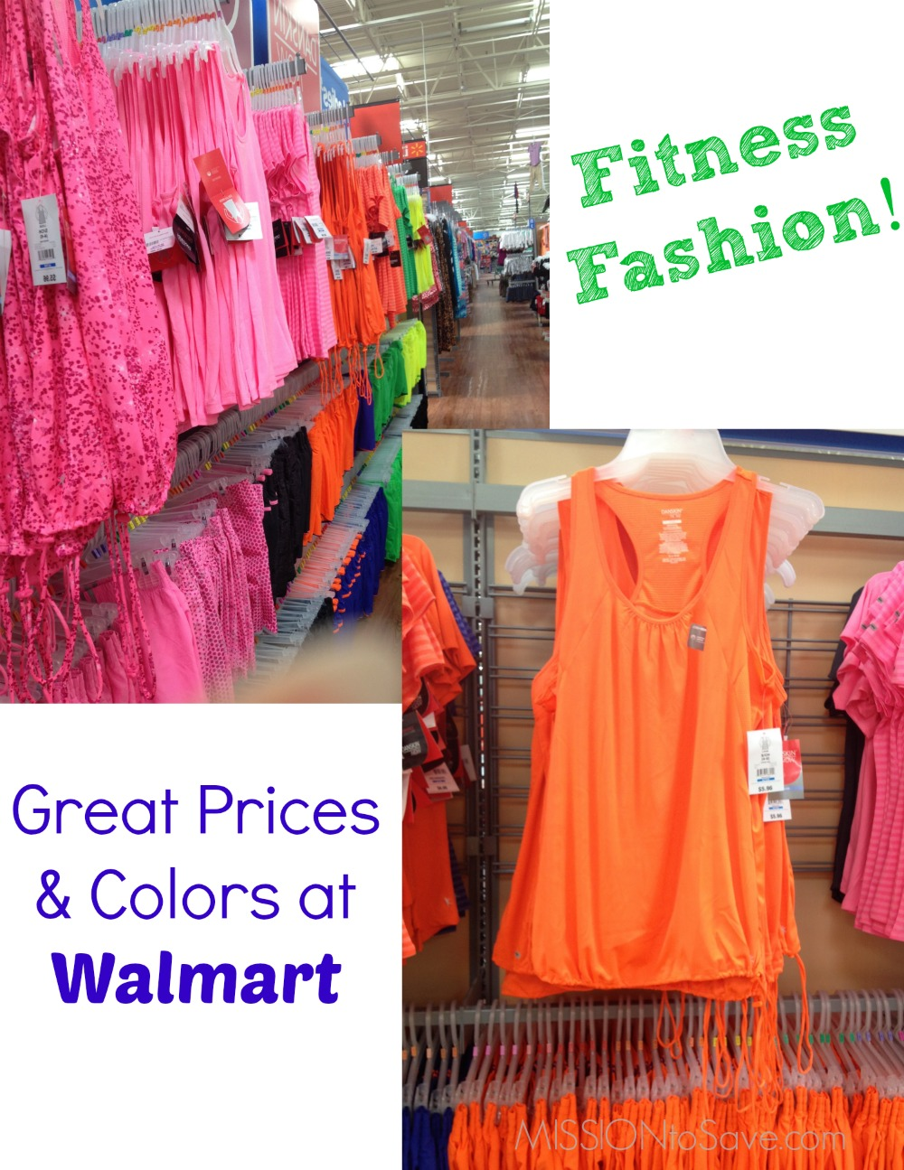 Fitness Fashion at Walmart 2774