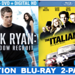 Jack Ryan: Shadow Recruit + Ticketmaster Deal at Walmart for Father's Day Gifting #JackRyanBluRay #shop