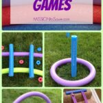 Pool Noodle Games- No Water Needed! (Alternative Uses for Pool Noodles Post)