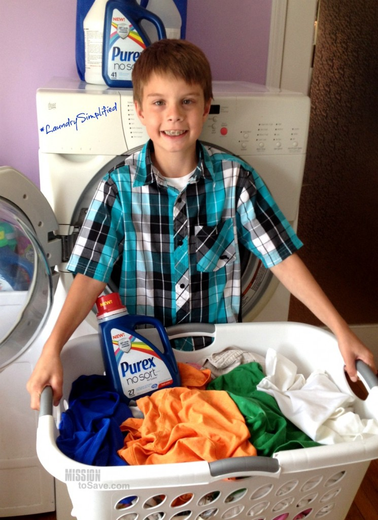 Purex Laundry Simplified for Kids