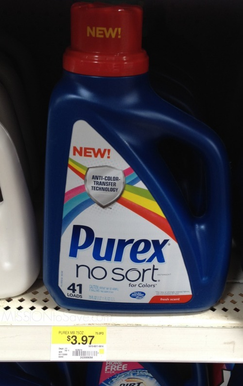 Purex No Sort Shelf Price