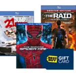 Buy 2 Movies, Get Free $10 Best Buy Gift Card (Possible Freebies)