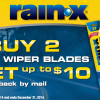 RainX Wiper Blades Rebate